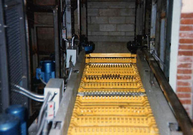 Conveyor system fabricated and installed for City of Baltimore Postal Service